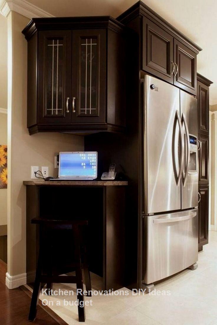 10 Diy Solutions To Renew Your Kitchen Kitchenideas Diykitchen Diy Kitchen Renovation Corner Bar Cabinet Refacing Kitchen Cabinets