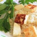 Вегетарианские рецепты / Кесар панир пулао или шафрановый рис с паниром