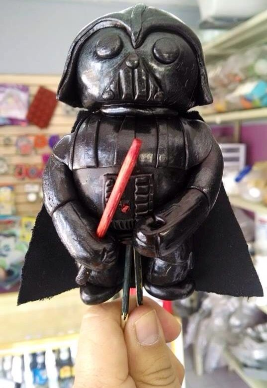 Darth vader de fondant de chocolate por Breicka