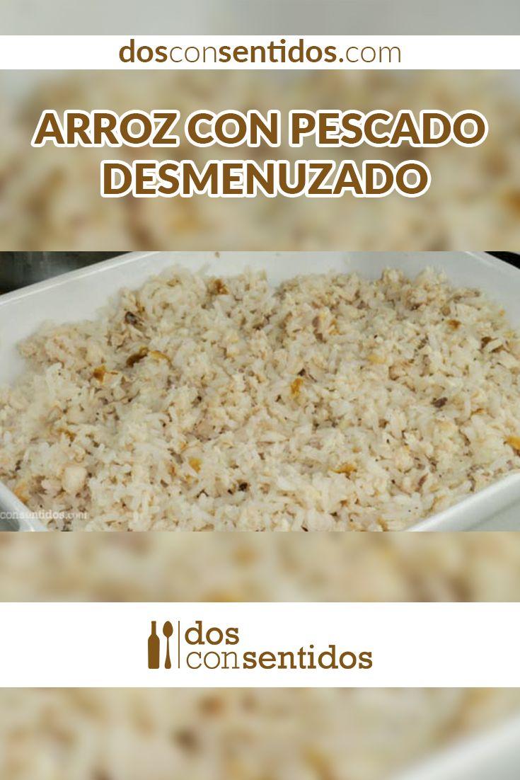 El arroz con pescado, como muchos de los platos tradicionales colombianos, es una mezcla entre nuestra cultura y la española. En Colombia, en la costa caribe, el arroz se hace con leche de coco y se cocina el pescado por aparte, normalmente se frita y se hace con pargo rojo o alguna pesca del día, como bocachico, mojarra o hasta atún enlatado.