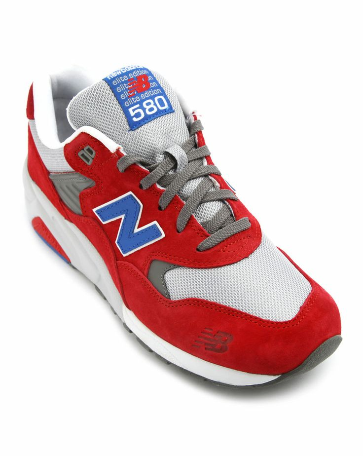 Sneakers 580 suede rouge NEW BALANCE homme Baskets rouge homme
