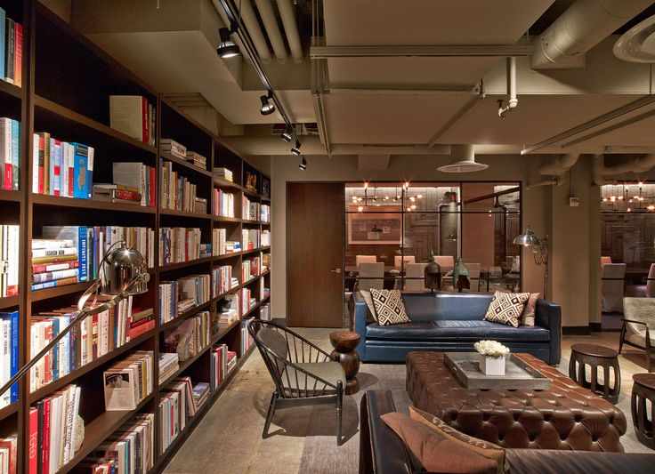 David rockwell completes new york city 39 s neuehouse an for Interior design office new york