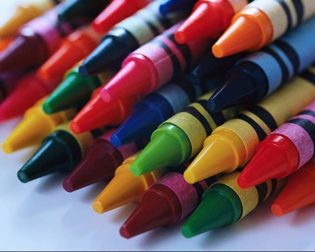 brand new crayons