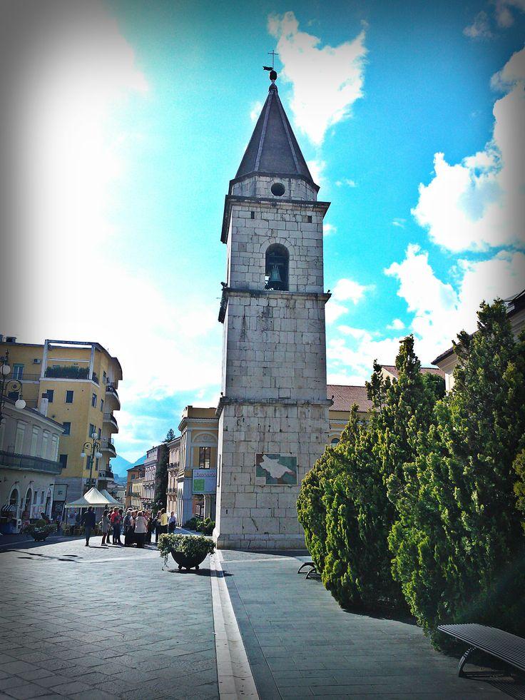 Santa Sofia - Bell tower Benevento, Campania, Italy #cultural #tourism #Italy