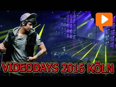 VIDEODAYS 2016 Köln mit KRAPPI, JULIEN BAM, CRISPY ROB, VINCENT LEE & viele MEHR! | ChrisCross - YouTube