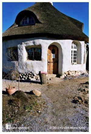 Tiny cob house
