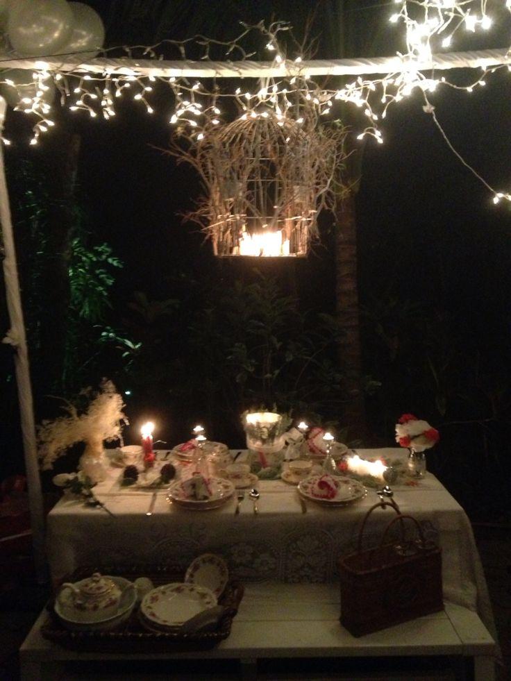 Ideas creativas para una cena romántica al exterior
