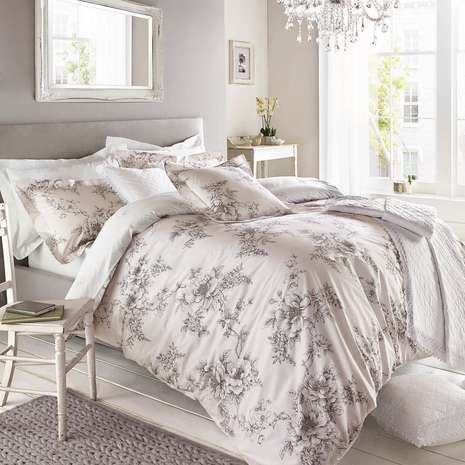 Holly Willoughby Jenna Pink Duvet Cover   Dunelm