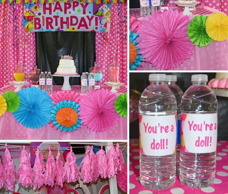 12 Best Party Barbie Images On Pinterest