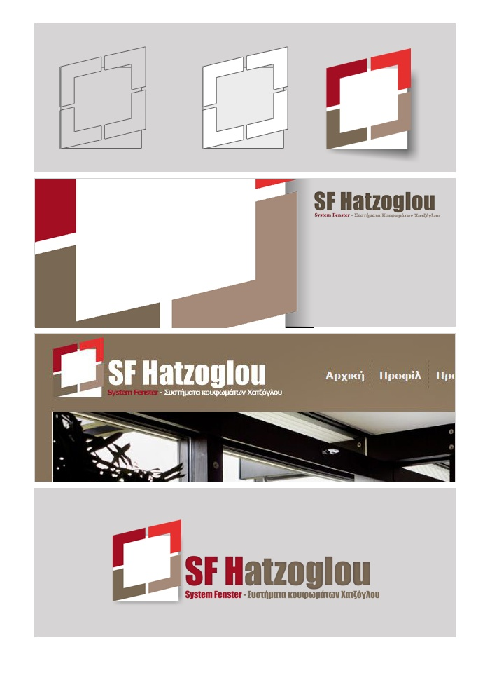 We desinged a new digital brand and web site for sfh.gr