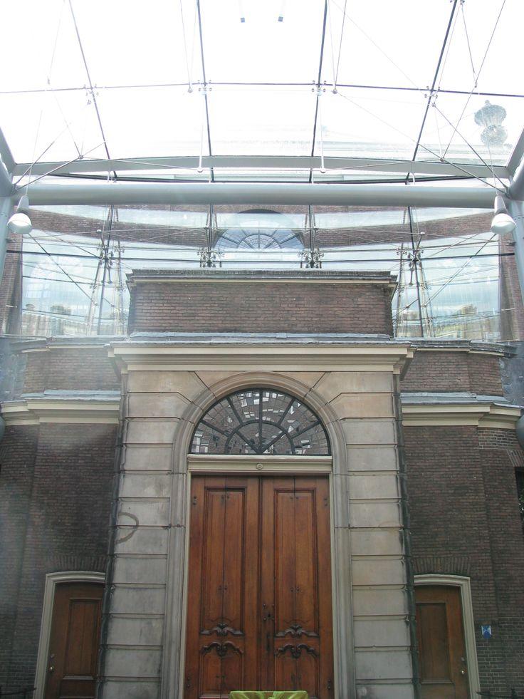 De Glazen Zaal, plek van de herinneringsvieringen van het Jacobshospice
