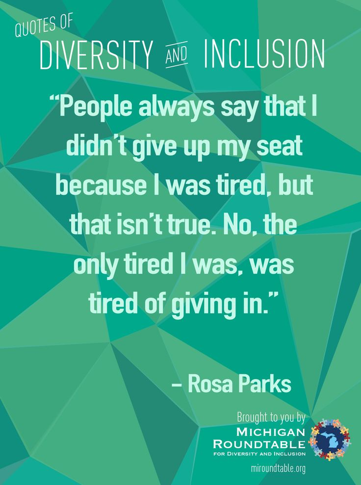 Diversity Quotes Impressive 9 Best Quotes Of Diversity And Inclusion Images On Pinterest