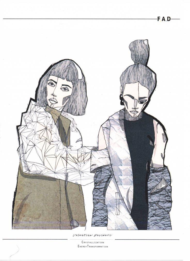 Fashion Sketchbook - fashion illustrations; graduate fashion portfolio // Valentina Desideri
