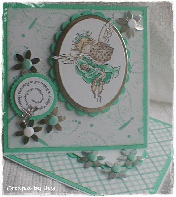 GorJessCardsnCrafts: Cards Feminine