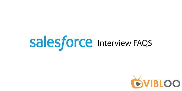 #Salesforce #InterviewFAQS @ http://bit.ly/Salesforce-Interview-FAQS #SalesforceOnlineTraining @ bit.ly/Salesforce-OnlineTraining