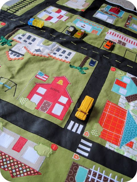 Car Play Mat, many other tutorials sewing for children