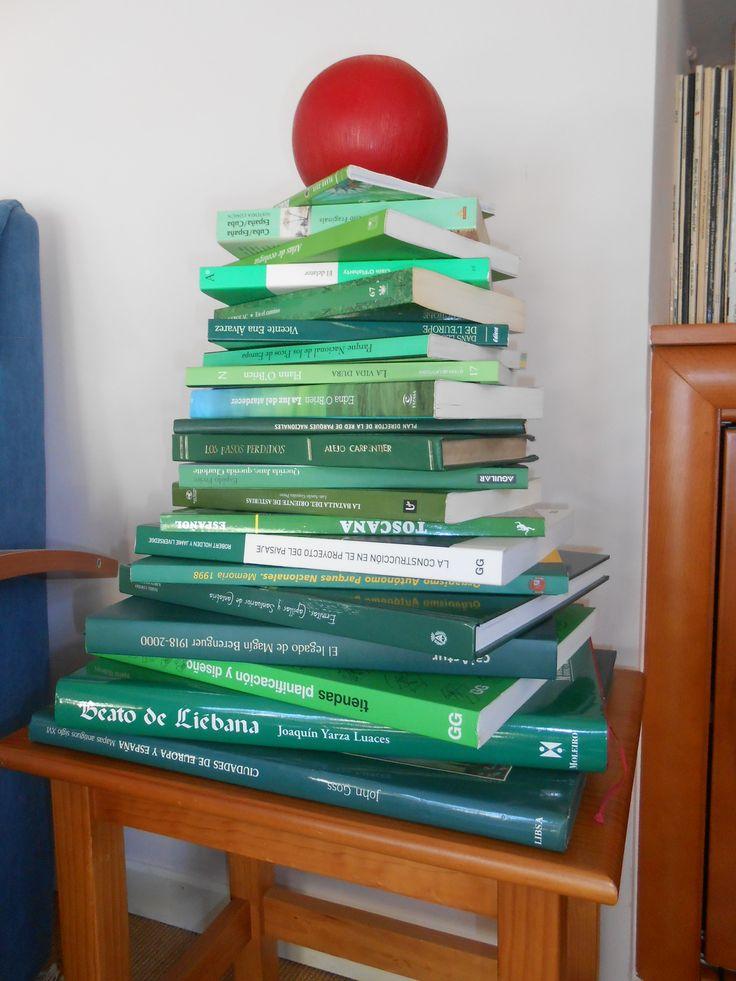 Mi árbol de libros.