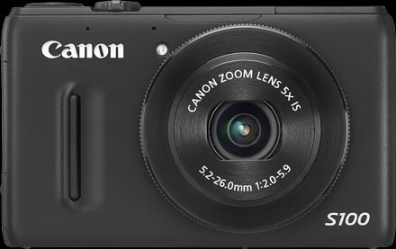 Canon Powershot S100. The photographer's truly pocket-sized camera