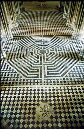 Labyrinth, Cathedral of Amiens, France