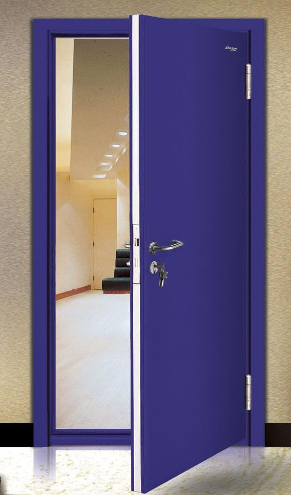 Professional 120 Minutes Flat Stainless Steel Fire Proof Mother Son Doors Fire Resistant Door Residential Fire Rated Doors Steel Fire Exit Doors There Is