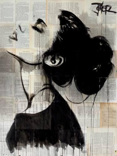 "Saatchi Art Artist LOUI JOVER; Drawing, ""this will be"" #art"