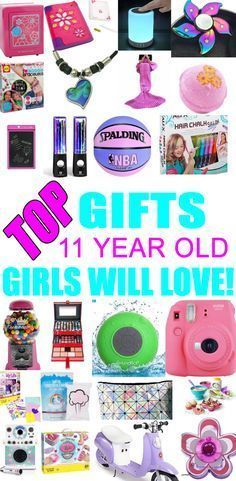 Top Gifts For 11 Year Old Girls! Best gift suggestions & presents for girls eleventh birthday or Christmas. Find the best ideas for a girls 11th bday or Christmas. Shop the best gift ideas now for tween & teens. #teenbirthdaygifts