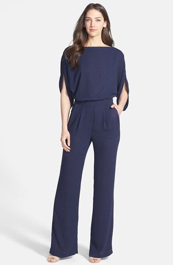 Diane von Furstenberg 'Lucy' Blouson Jumpsuit available at #Nordstrom