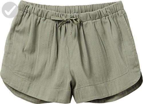 RVCA Women's Yume Mid Rise Short, Smoke Green, XS - All about women (*Amazon Partner-Link)