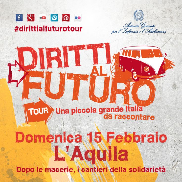 Domenica 15 Febbraio - L'Aquila -  Dopo le macerie, i cantieri della solidarietà