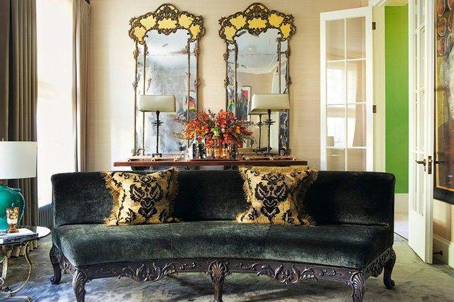 Luxury Ornate Mirrors - Living Room Design Ideas & Pictures (houseandgarden.co.uk)
