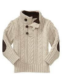 Good Lord, this is adorable. Toddler Boys' Sweaters: wool sweaters, hooded sweaters, sweater vests at babyGap | Gap