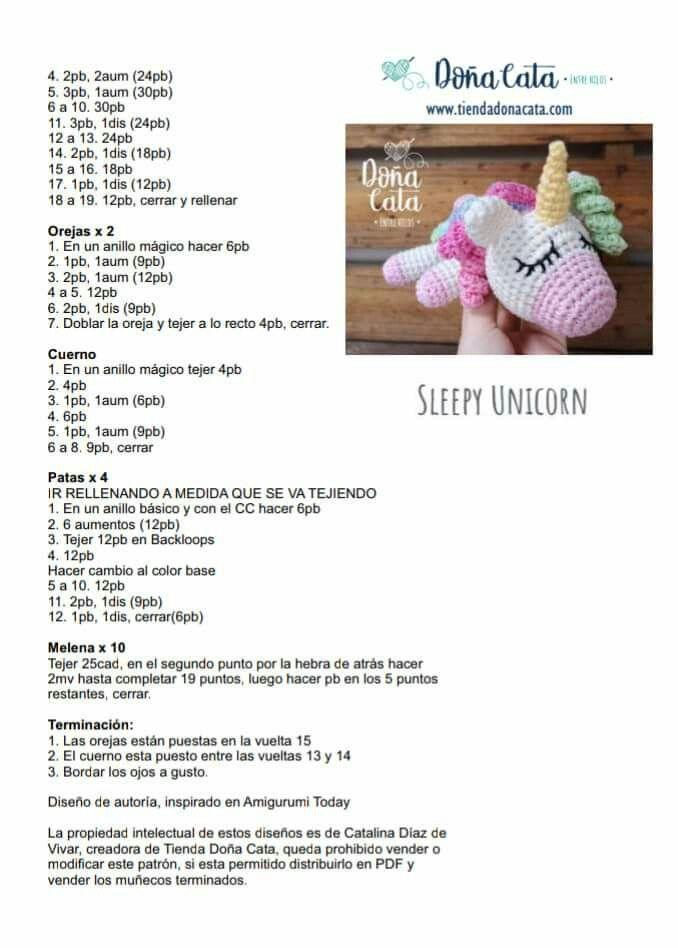 Patrón de crochet / Amigurumi Muñeca Unicornio Candy y Mint | Etsy | 948x678