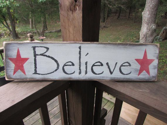 "This Primitive rustic Christmas sign, will look great for your country Christmas decor, sign is made of wood, and is hand painted and distressed to give an aged look. Sign measures 24"" X 7 "" and comes"