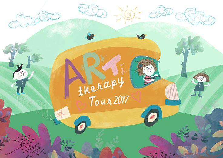 Prende il via da Norcia e Sellano il progetto 'Art Therapy Tour', per aiutare le persone a ripartire dopo il terremoto del 2016.