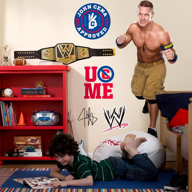 John Cena WWE Party Giant Wall Decal