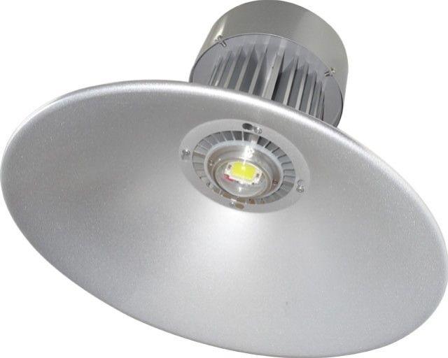 Lampa proiectata special pentru a fi folosita in iluminatul industrial, LAMPA INDUSTRIALA CU LED 80W asigura iluminat industrial in flux luminos de 7200LM si temperatura de culoare alb rece (6500K). Grad de protectie IP65.
