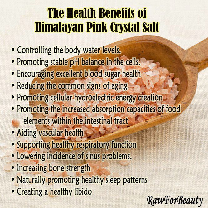 the health benefits of Himalayan Pink Crystal Salt