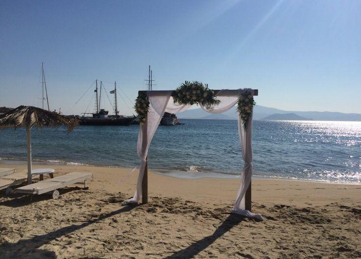 Beach Wedding in Naxos