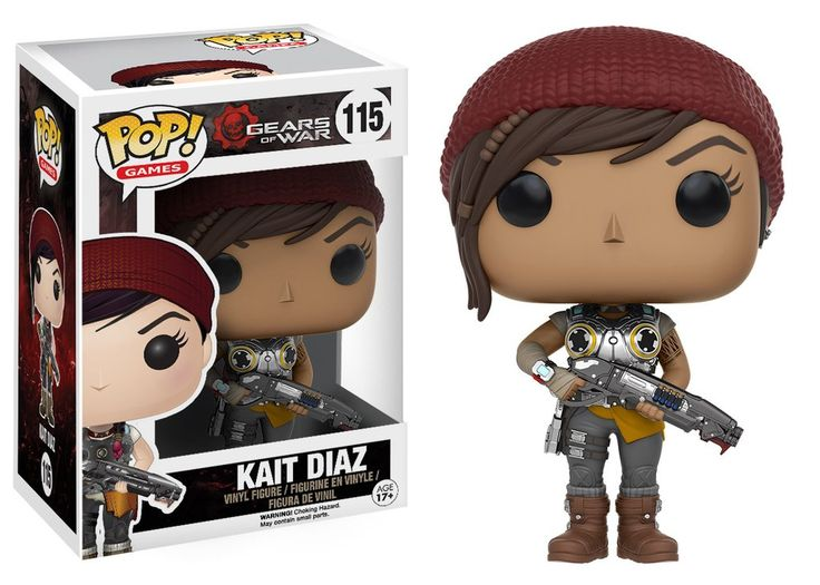 Pop! Games: Gears of War - Kait Diaz