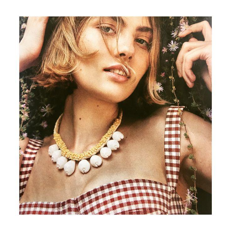🐚 Necklace Noel 🐚 #shell #collar #necklace #summer #postcard #shoponline #myislandhome @bazaaraustralia Jan~Feb18