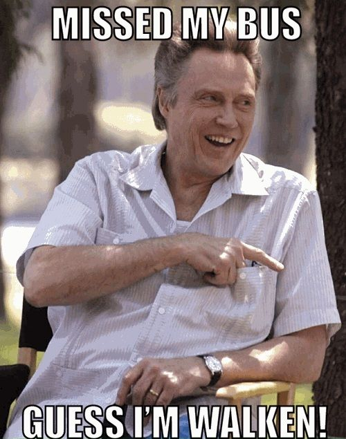 "Christopher Walken.......He was SO funny as the dad in ""Hairspray!"" Another funny movie of his is ""$5 Dollars a Day!"" If you havn't seen those movies it will show you the funnier side of him!!"