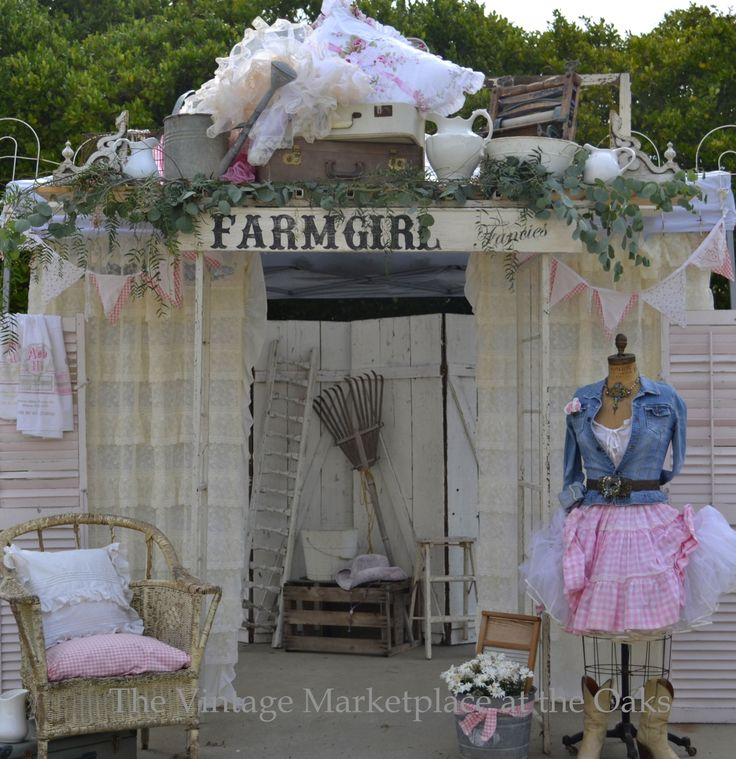 "Sneak-peek of the front entrance of TVM ""Farmgirl Fancies"" Show sept. 6th-8th Rainbow/Fallbrook, CA."