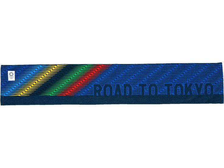 Serviette Jeux Olympiques Tokyo 2020 Asics Produit Officiel / Livraison Gratuite