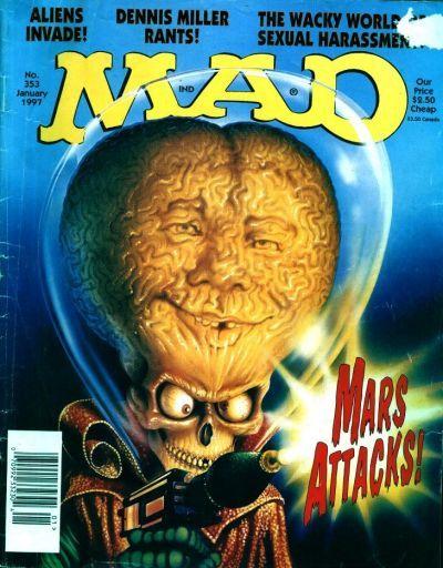 Mars Attacks!  MAD magazine