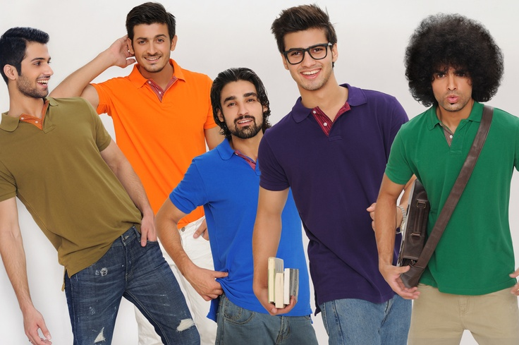 Embroidered and plain polo shirts for men now available in funky colours at Khaadi!