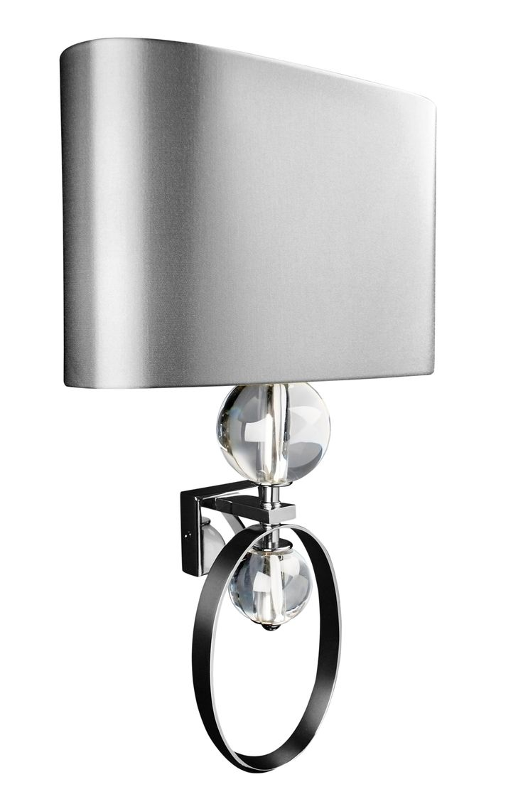 Chloe loft industrial 2 light oil rubbed bronze wall sconce free - Arco Nickeled Brass Wall Light