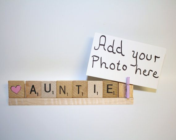 Love Auntie, Auntie Photo, Auntie Mothers Day, Auntie Gift, Auntie Christmas, Aunt Christmas, Santa Photo, Auntie Frame, Sister Frame, Uncle