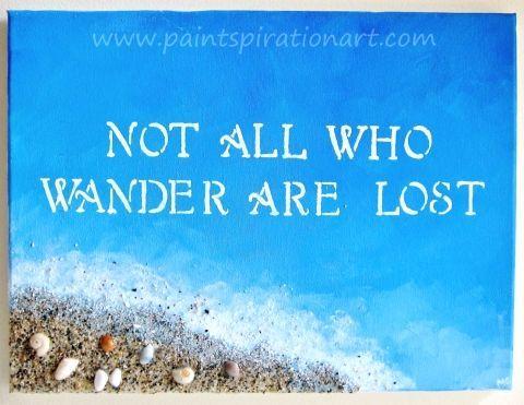 Nicht alle die herumirren sind verloren. – #alle #die #herumirren #nicht #SIND…