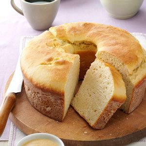 Sally Lunn Batter Bread Recipe from Taste of Home -- shared by Jeanne Voss of Anaheim Hills, California