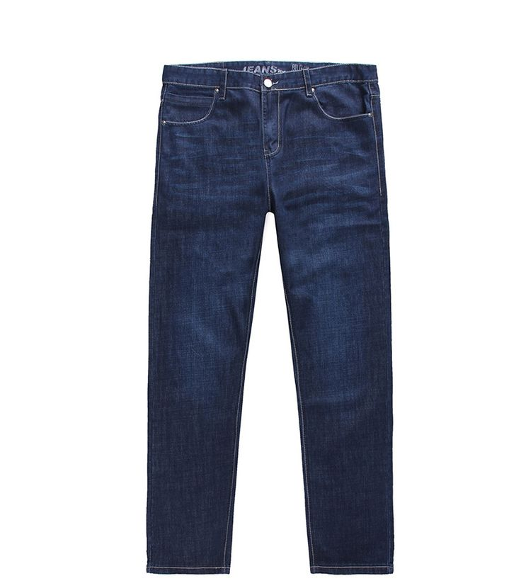 31.72$  Buy here - http://aitxz.worlditems.win/all/product.php?id=32662090907 - Big Size Summer Spring Men's Straight Jeans, XL-6XL Casual Brand Man's Loose Cotton Jeans. pantalones vaqueros de gran tamano